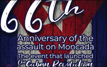 July 27th Event- Cuban Revolution Annual Celebration
