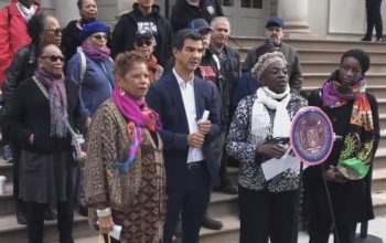 NYC council press conference on cuba
