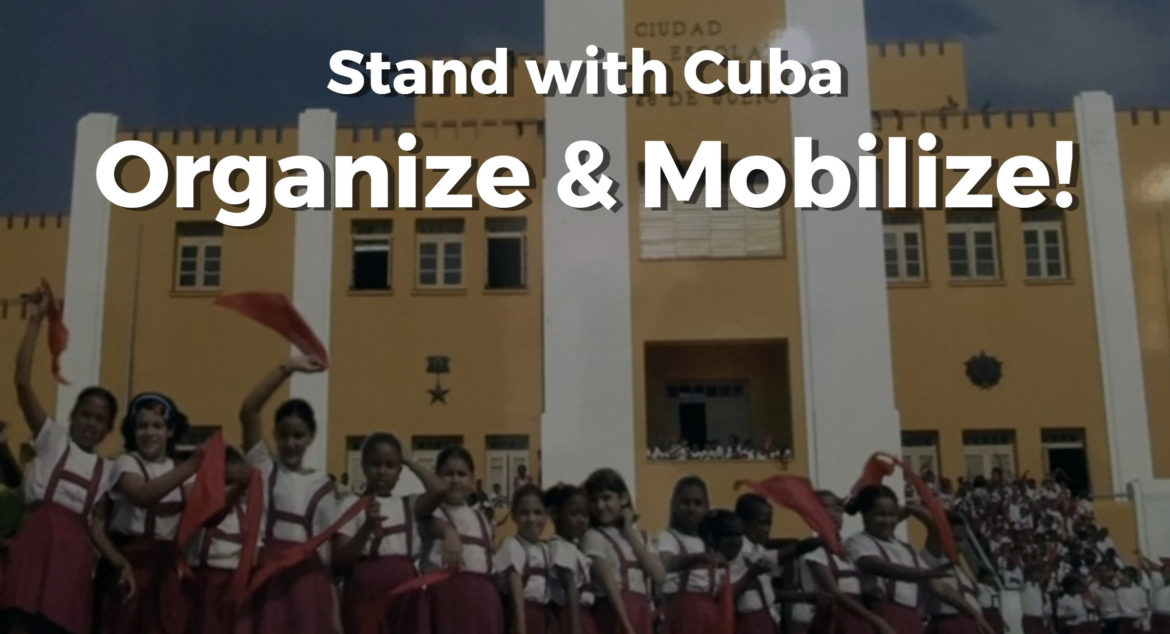 Stand with Cuba