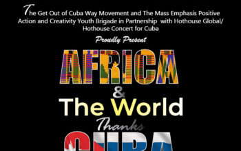 Africa and The World Thanks Cuba