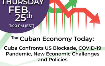 Cuban Economy Today: Pandemic and Economic Challenges