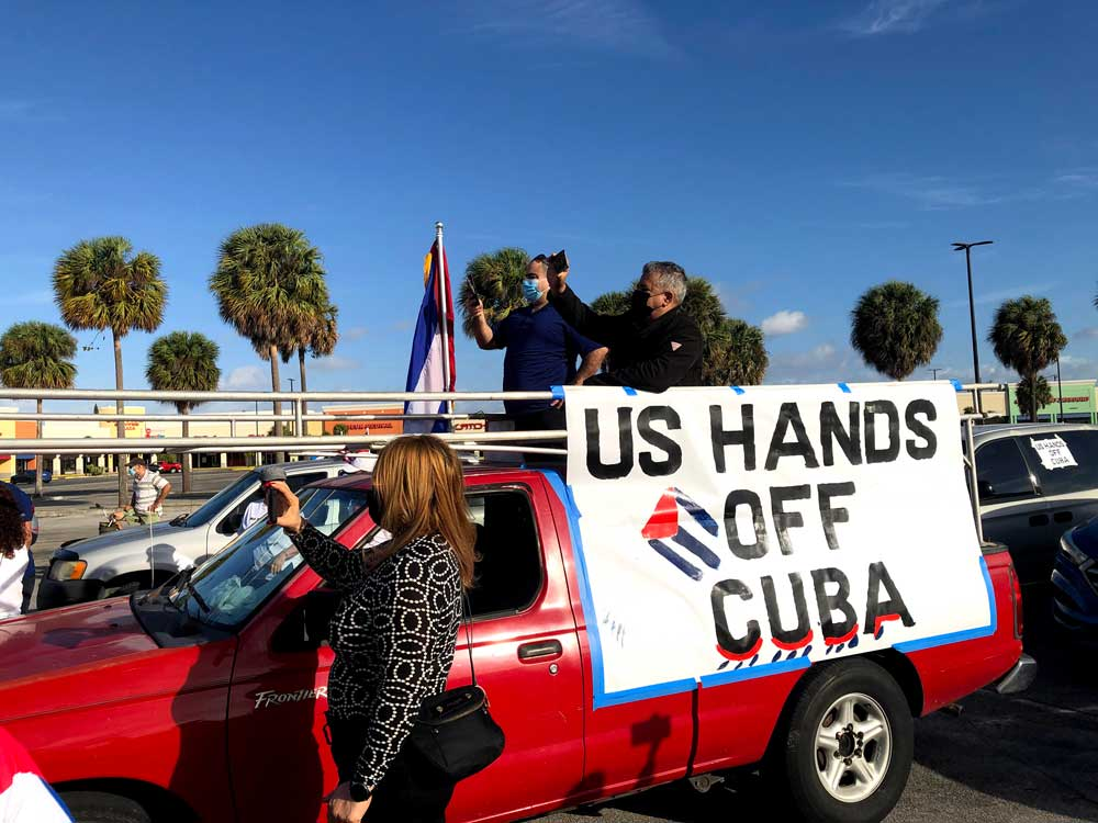 Lift all US economic and travel sanctions against Cuba!