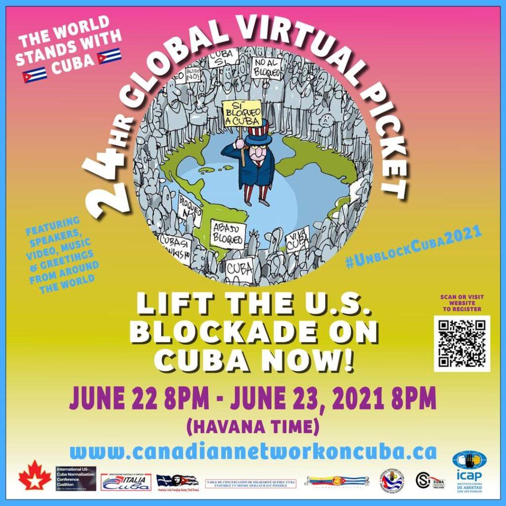24 hour Global Virtual Picket